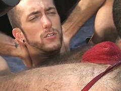 Junior Stellano and RJ Danvers ass fisting. Posted by: Fisting Central