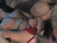 Two gay stars Andre Barclay and Antonio Biaggi in fisting scene. Posted by: Fisting Central
