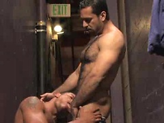 Muscle guys Adam Champ and Angelo Marconi fuck. Posted by: Hairy Boyz