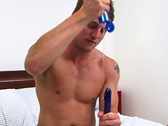 Former Royal Marine Tyler Just Cant get Enough in his First Anal Toying Mission!. Posted by: English Lads