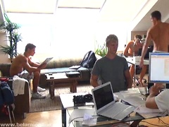 Alex Waters jacking off with his buddy. Posted by: Bel Ami Online