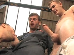 Christian Wilde, Conner Habib and Derrek Diamond threesome. Posted by: Hairy Boyz