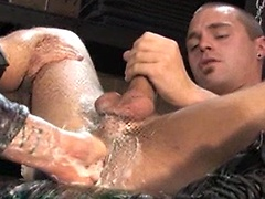 Andre Barclay and Matthieu Paris fisting. Posted by: Fisting Central