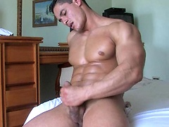 Logan jerking off his cock. Posted by: Muscle Hunks