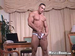 Lex shows his muscled ass. Posted by: Muscle Hunks