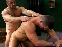 Hot muscle hunk gets his ass fucked. Posted by: Men at Play