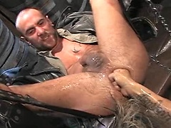Fisting scene. Starring Matthieu Paris and Sky Devil. Posted by: Fisting Central