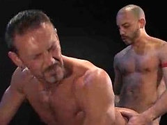 Arm eating action! Strring Antonio Biaggi, Colin Steele. Posted by: Fisting Central