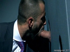 Gloryhole oral sex. Starring Paddy O'Brian, Alec Hills and Justin King. Posted by: Men at Play