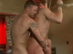 Emanuel is made to suck the janitor's cock and he gets roughed up and humiliated.. Posted by: Bound Gods