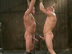 Luke Riley Getting Worked Over. Posted by: Bound Gods