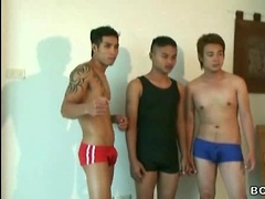 Thai Twinks Clash in 'Cum Crazy Wrestlers'. Posted by: BoyKakke