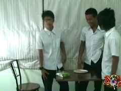 Thai Twinks Play 'Cum on Crackers'. Posted by: BoyKakke