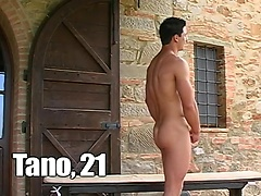 Casting. Tano jerking off dick. Posted by: LucasKazan