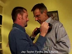 Mature man Jay Taylor Fucks Jay Church. Posted by: Hot Older Male