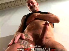 Old man Nik Arbor jacking off dick. Posted by: Hot Older Male