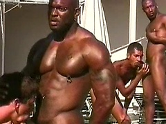 Bad Boy, Bobby Blake and Damian Diaz fucking outdoors. Posted by: Thug Orgy