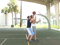 Basketball players Jake Steel and Micah Jones fucking. Posted by: Hot Jocks Nice Cocks