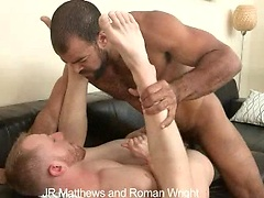 JR Matthews and Roman Wright  fuck. Posted by: Cocksure Men