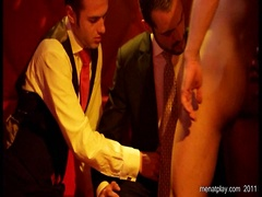 Tease. Group sex in the VIP zone. Posted by: Men at Play