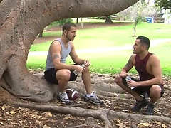 Hot athletes Christian and Triston fuck. Posted by: Hot Jocks Nice Cocks