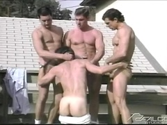 Coming Together. Three muscle men fucking. Posted by: Falcon Studios