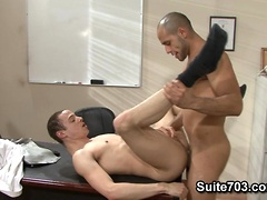Leo Forte and Sean Adair. Posted by: Men Hard at Work