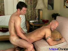 Hot hunks Cameron Kincade and Brock Russell fuck. Posted by: Men Over 30