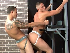 Muscle stud fucked. Starring Brad Star and Cliff Jensen. Posted by: Hot Jocks Nice Cocks