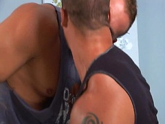 Matthew Rush pounds Doug Jeffries. Posted by: Men Over 30
