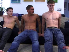 Straight Hunk Dan James gets blown by Darius who gets sucked by Dan Broughton!. Posted by: English Lads