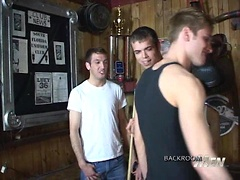 Gay Raunch in the Back Room. Posted by: Backroom Fuckers