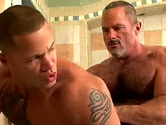 Matthew Rush and Tim Kelly fucking in a shower. Posted by: Hot Older Male