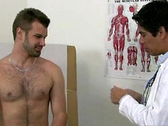 Hot jock gets molested by the college doctor.. Posted by: College Boy Physicals