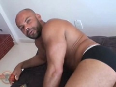 Gustavo plays with his fat cock. Posted by: Alpha Male Fuckers