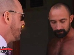 Hairy muscle hunks Butch Grand and Carlo Cox fucking. Posted by: Alpha Male Fuckers