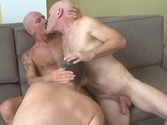 Matt Denis, Nik Arbor and Werner - daddies threesome. Posted by: Hot Older Male
