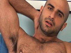 Alex Slater muscle hairy hunk jacking off dick. Posted by: Men Over 30