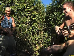 Hot studs Brodie and Derek fucking outdoors. Posted by: Cruiserboys