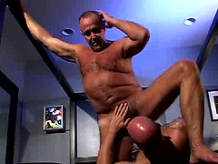 Dan Rhodes and Clint Christophe. Posted by: Hot Older Male
