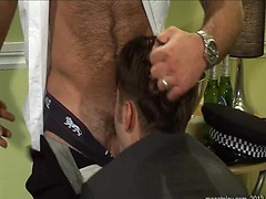 Cop Off  Starring Eliad Anastos, Bruno Knight and Justin Harris. Posted by: Men at Play