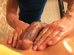 Oily Deep Anal Massage. Posted by: Massage Bait