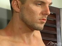 Joe jacking off cock. Posted by: Falcon Studios