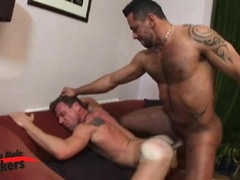 Hairy muscle hunks Tiko and Korben fuck. Posted by: Alpha Male Fuckers