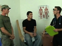 Army boy and his friend get more than your normal physical at the doctor's office.. Posted by: College Boy Physicals