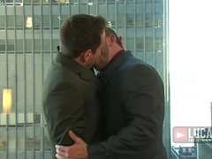 Wall Street Men Dylan Roberts and Shay Michaels Pound Ass. Posted by: Lucas Entetainment