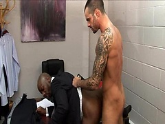 Dressing Down. Starring Race Cooper and Issac Jones. Posted by: Men at Play