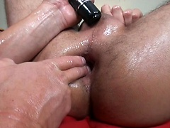Oily Anal Therapy. Posted by: Massage Bait