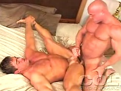 Two gays sixty-nining before a good ass stretching session!. Posted by: Colt Studio