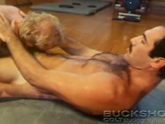 2 Strong men wrestling naked finds pleasure in sucking dicks. Posted by: Colt Studio